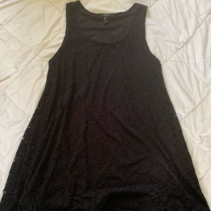Forever 21 black and lace dressy